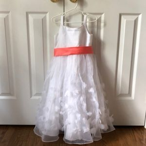 Flower Girl Dress with Sash